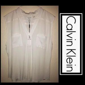 New Calvin Klein Linen Blouse!💫
